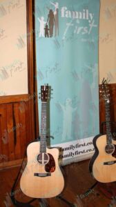 Two acoustic guitars