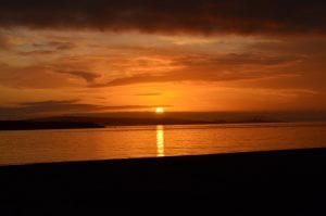 be still sunset